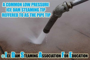 Ice Dam Steaming Tip