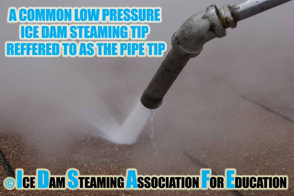 Ice Dam Steaming Tips