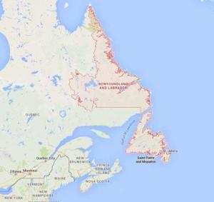 Newfoundland and Labrador NL