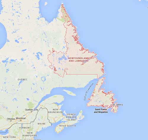 Newfoundland and Labrador NL