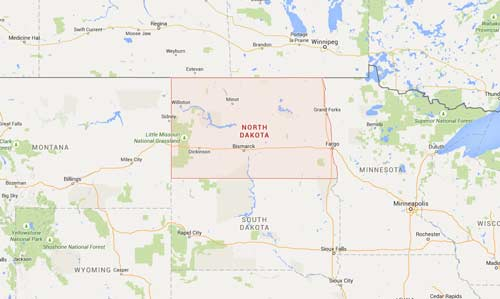 North Dakota Ice Dam Removal