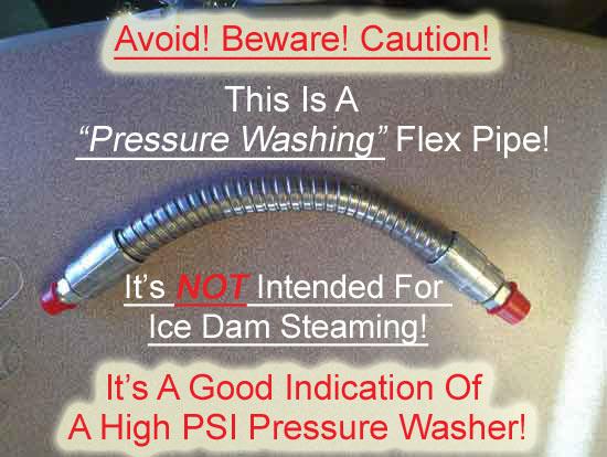 Pressure Washing Flex Pipe