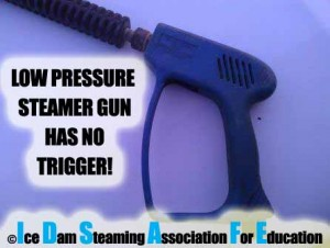 Do Ice Dam Steamers Have Triggers