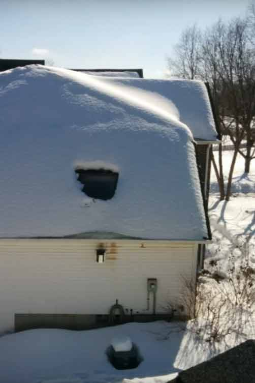 Why Do Ice Dams Form Below Skylights