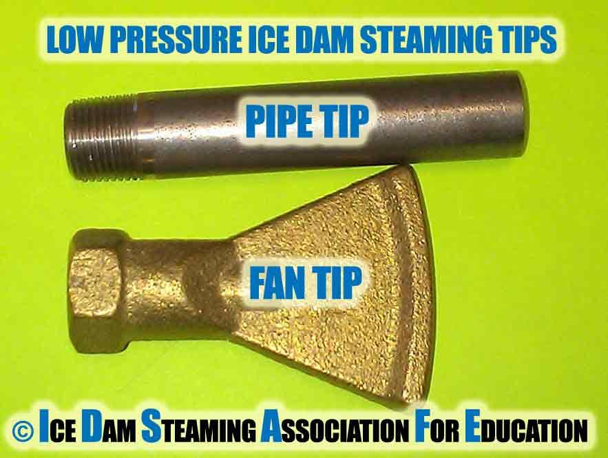 Ice Dam Steaming Equipment Identification